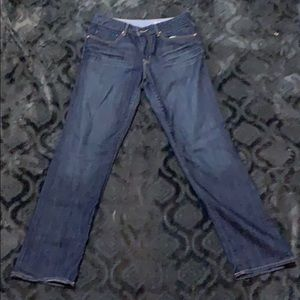Gap straight legged jeans size 10
